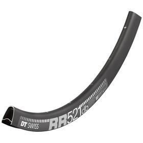 """DT Swiss RR 521 Velg 28"""" Disc 20mm, zwart"""